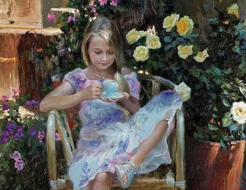 南京玄武区百达翡丽手表回收折扣俄罗斯油画家Vladimir Volegov作品欣赏