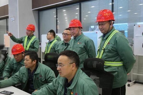 心连心化学工业集团九江60·52·40项目开车