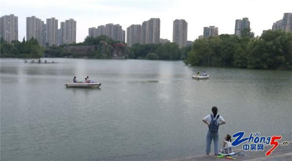 """青枫公园开启""""夜间模式"""" 市民享受仲夏清凉"""