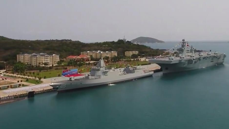 南海舰队一次性入列的三型主战舰艇都是何等利器?