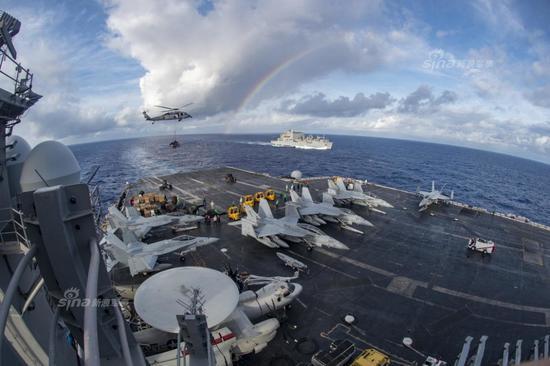 美军报告:美国面临中俄等多国威胁 崩溃即将来临(图)
