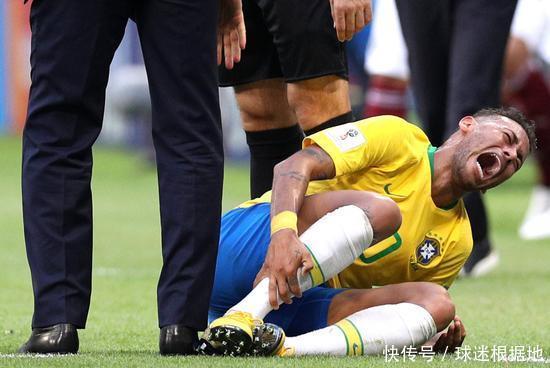 墨西哥球员:我踩到内马尔后 家人遭到巴西球迷