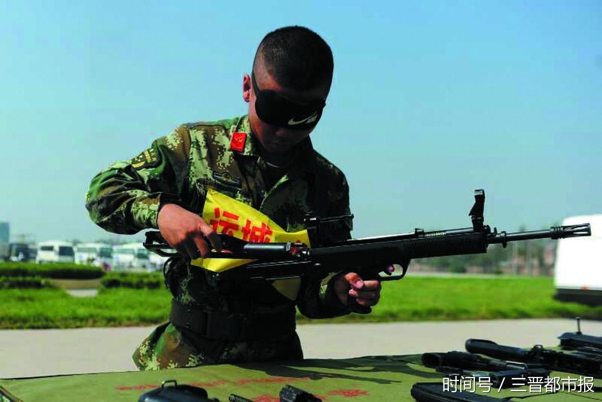 武警山西总队组织了岗位大练