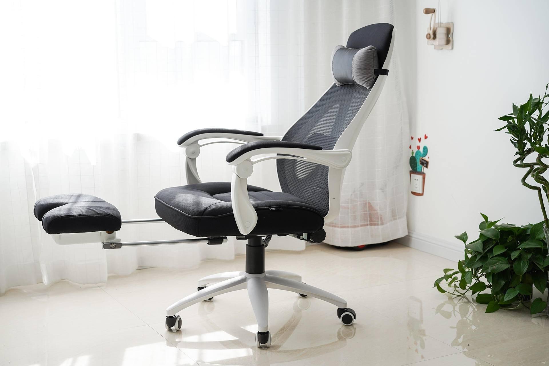 黑白调听海电脑椅:午休神器,让你躺着听海的