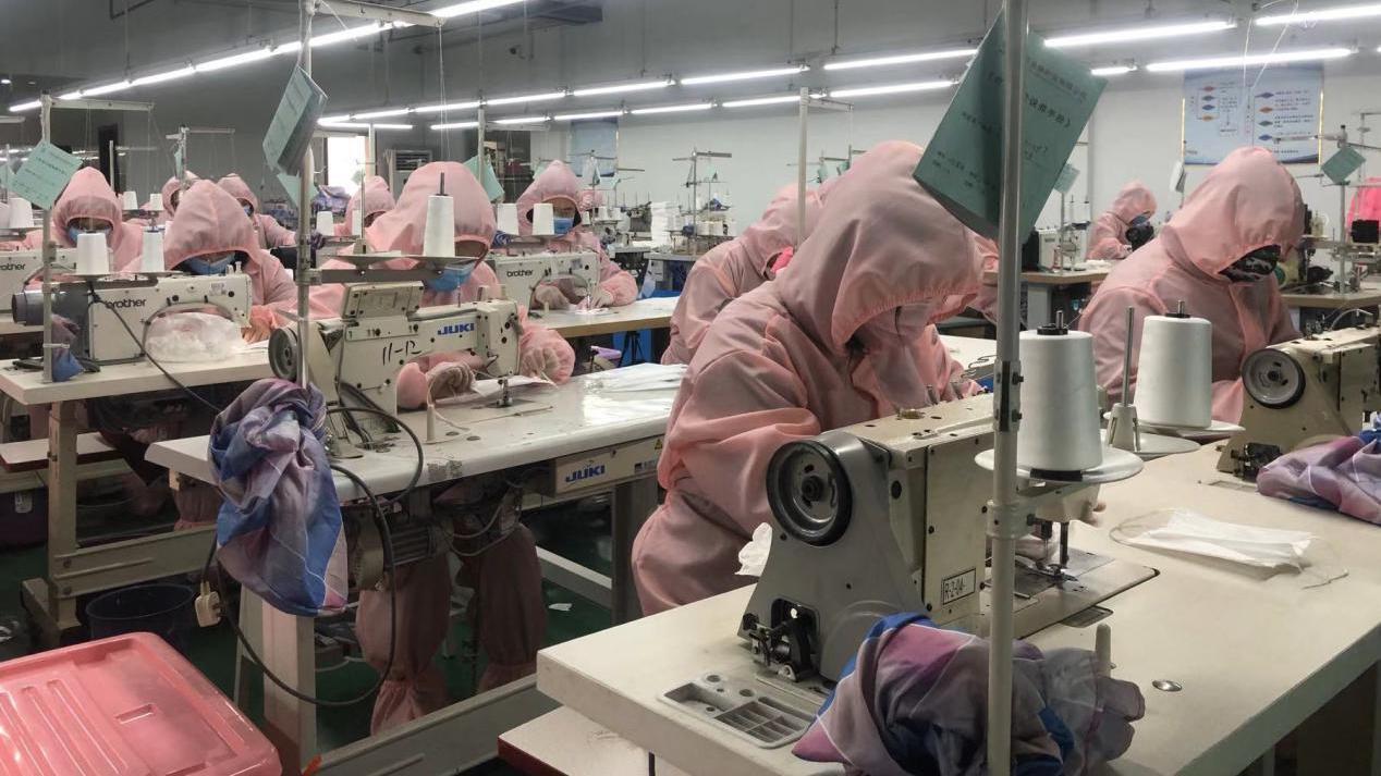 助力企业复工复产 淘帝童装全力转产口罩抗疫情