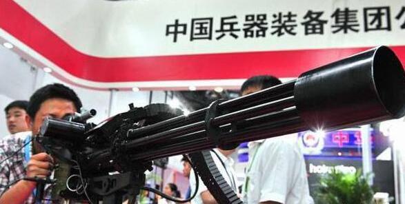 一分钟六千发子弹 中国造出超级机枪 火力太过凶悍(图)