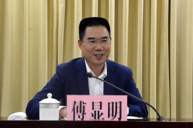 新任东阳市委书记傅显明:捧着一颗心来,不带半根草去