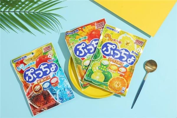"""集齐半个日本精华的悠哈普超软糖,"""""""