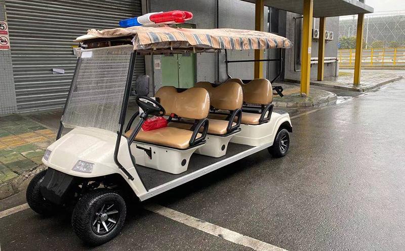 益高电动巡逻车给四川社会治安带来更多保障