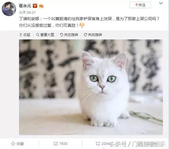 黄毅清微博爆料崔永元结果认怂了一大早连续删除十多条微博_腾讯