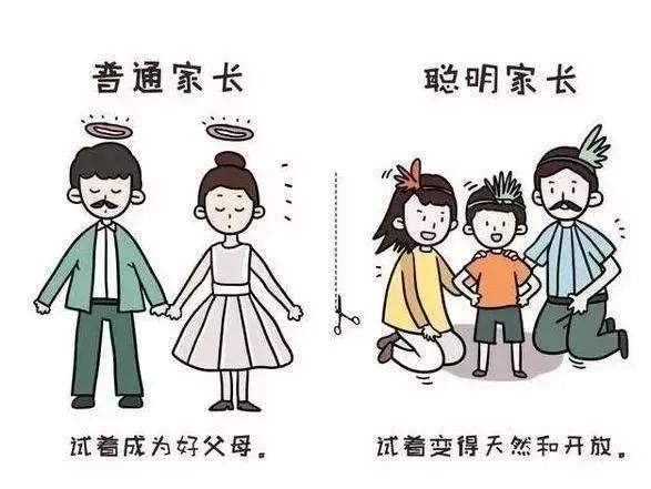 普通家长与聪明家长的最大区别,11张图深刻反映你的教育差距! - ddmxbk - 木香关注家庭教育
