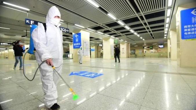 3月28日 武汉恢复部门地铁线路运行