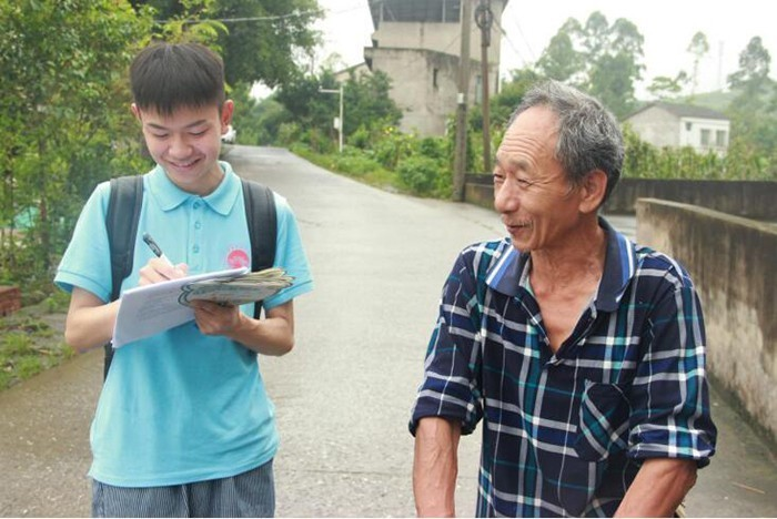 建国70年 华蓥村民喜迎新气象