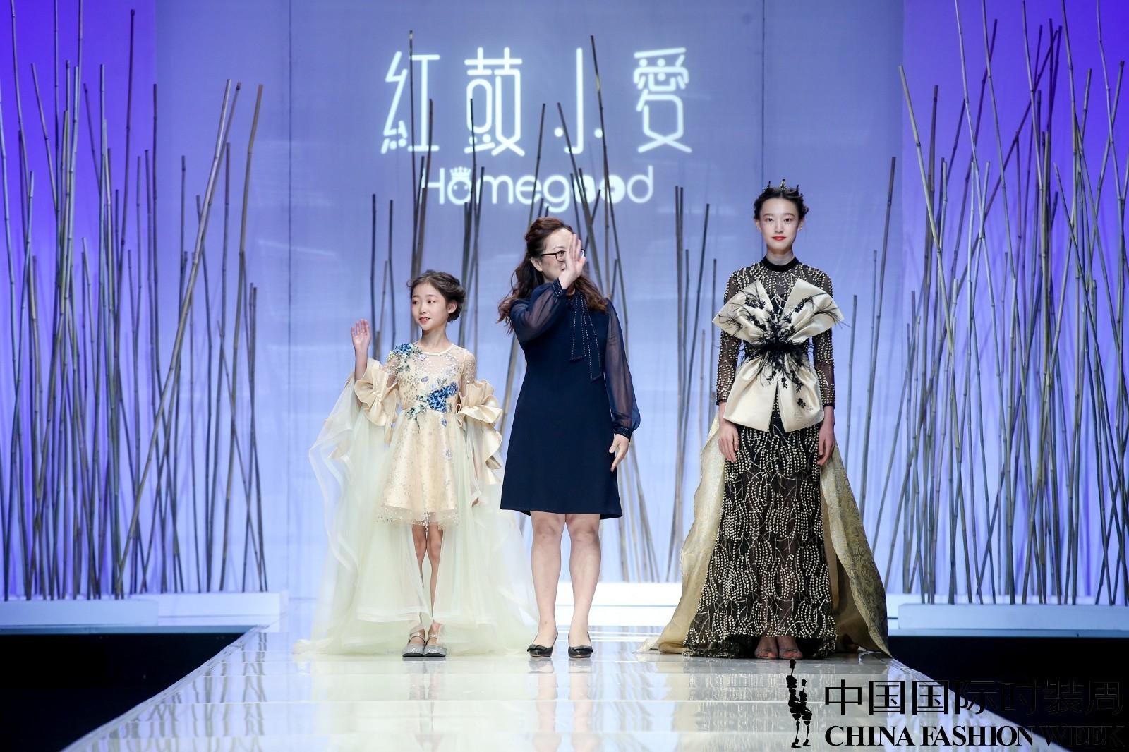 FMR2018潮模偶像裴思璇 荣登中国国际时装周首秀开场